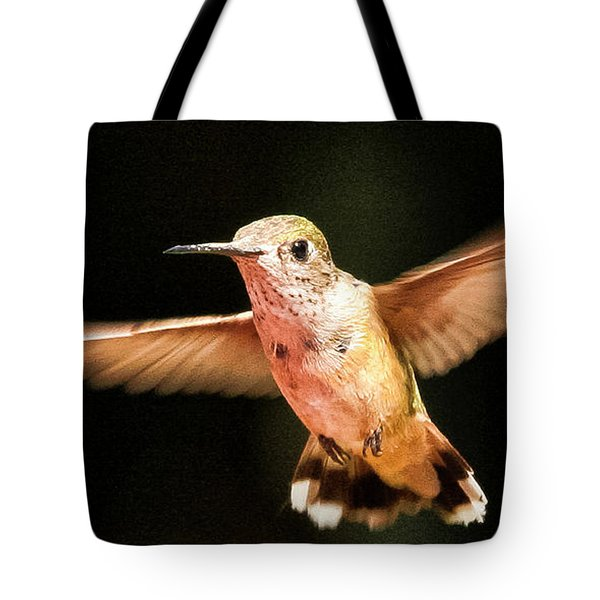 Tote Bag featuring the photograph Hummingbird  by Albert Seger