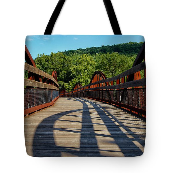 Humps And Shadows Tote Bag by Rachel Cohen