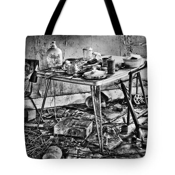 Hungry Helpers Tote Bag by Empty Wall