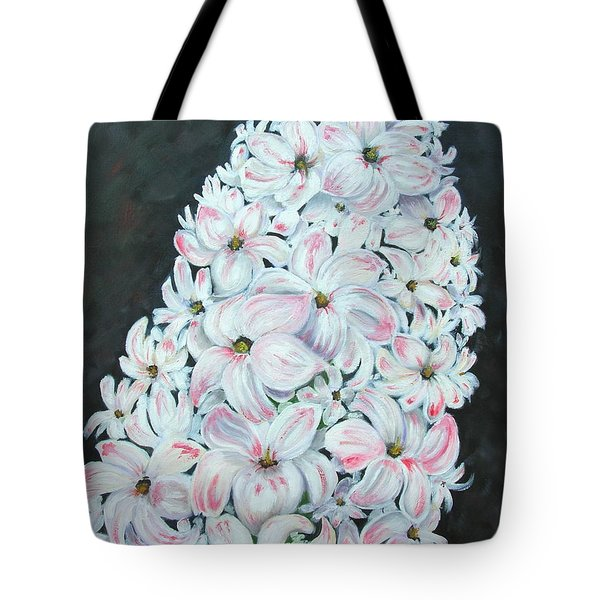 Tote Bag featuring the painting Hyacinth by Mary Kay Holladay