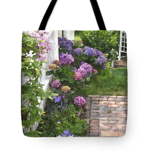 Hydrangeas  Hwc Tote Bag
