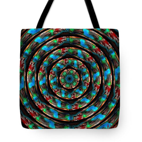 I Am Looking Through You Tote Bag by Alec Drake