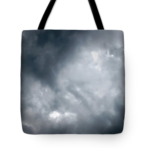I Am No Storm Chaser Cloud Tote Bag by Andee Design