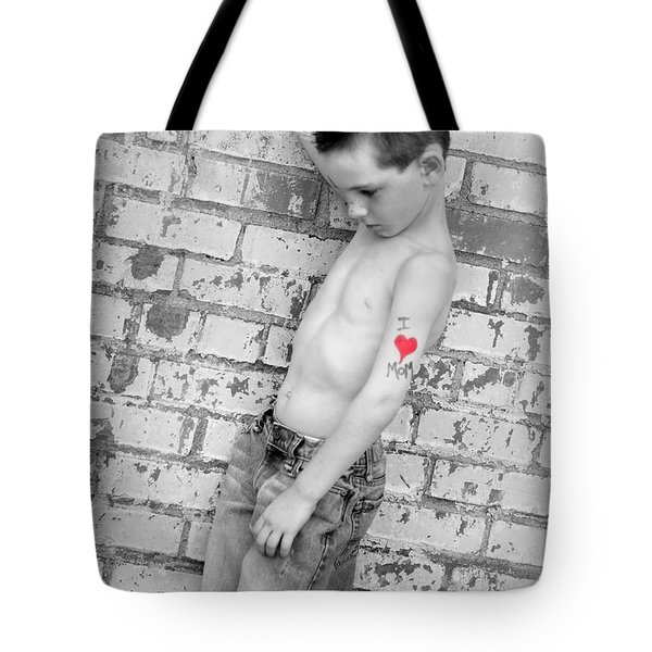 I Heart Mom Tote Bag