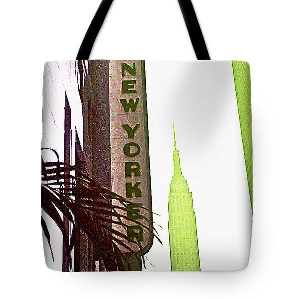 I Love New York Tote Bag by Beth Saffer
