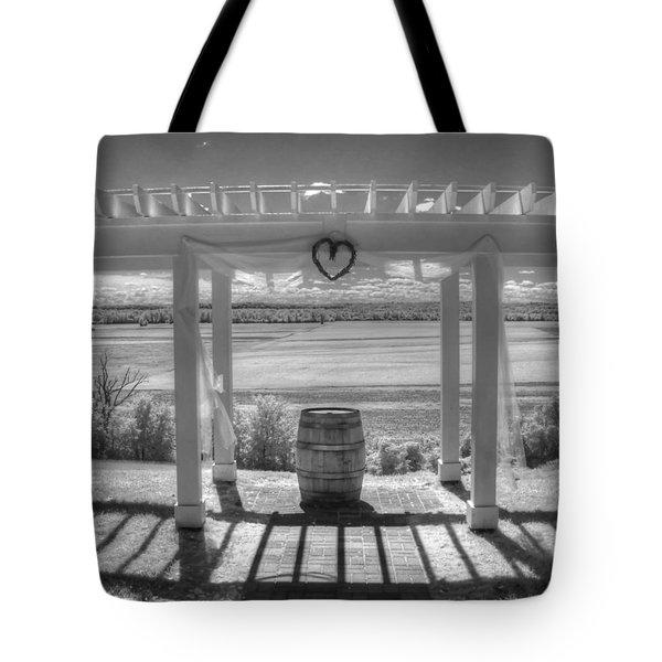 I Love Wine Tote Bag by Jane Linders
