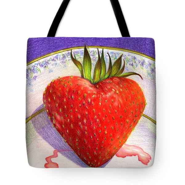 I Love You Berry Much Tote Bag