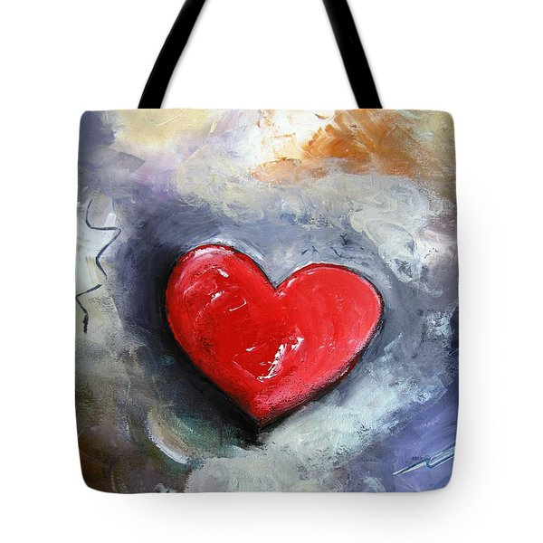 I Love You Tote Bag by Gary Smith