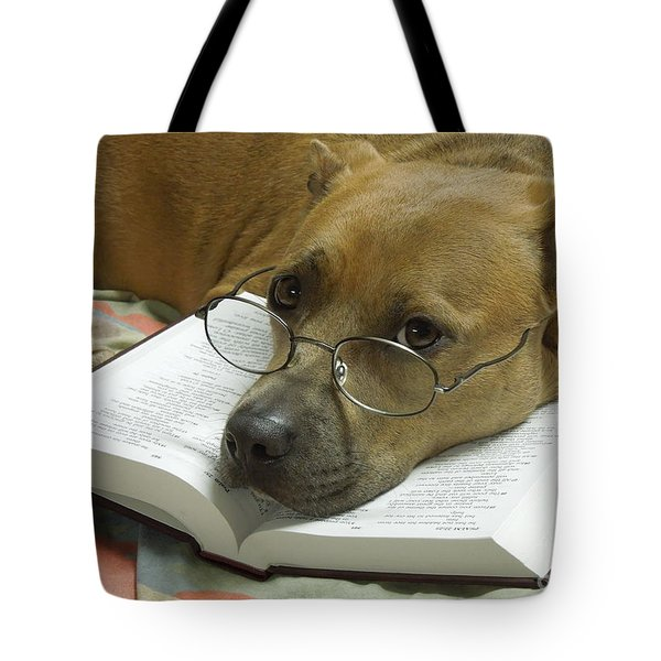 I Read My Bible Every Day Tote Bag by Renee Trenholm