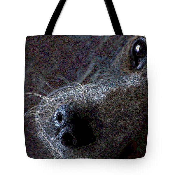I See You Tote Bag by One Rude Dawg Orcutt