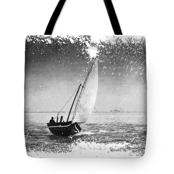 I Want To Ride On The Wind. Dhoni Boat. Maldives Tote Bag by Jenny Rainbow