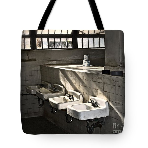 I Wash My Hands Tote Bag by Gwyn Newcombe