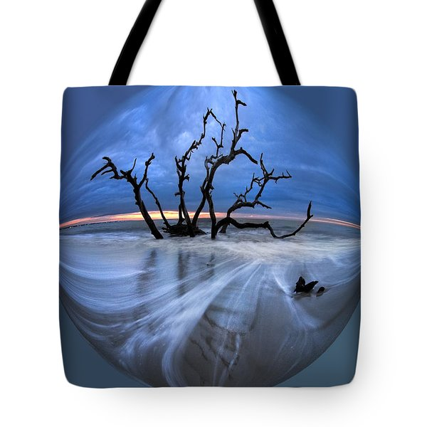 I Would Go To The Ends Of The Earth For You Tote Bag by Debra and Dave Vanderlaan