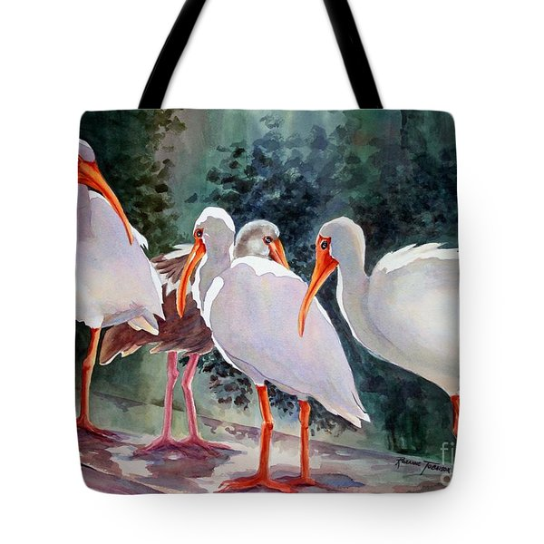 Ibis - Youngster Among Us. Tote Bag