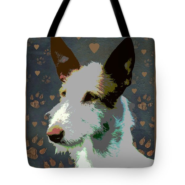Ibizan Hound Tote Bag by One Rude Dawg Orcutt