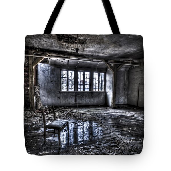 Ice Chair Tote Bag by Nathan Wright