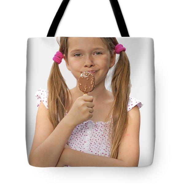 Ice Cream Tote Bag by Joana Kruse