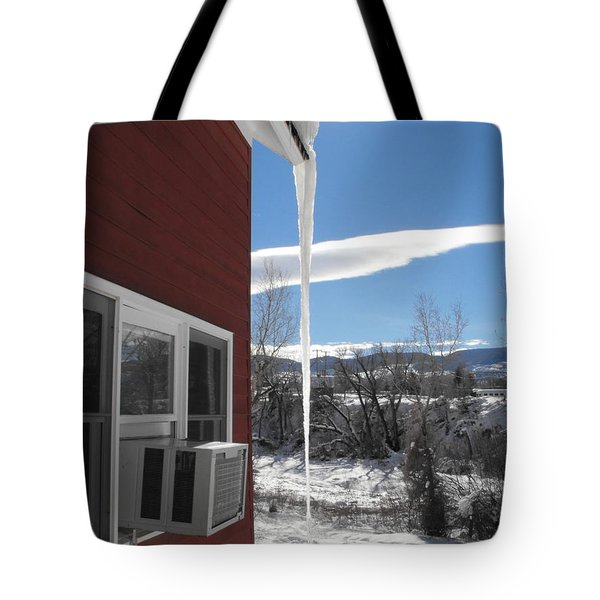 Ice In Motion Tote Bag
