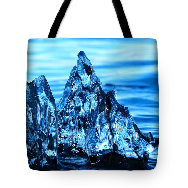 Iceberg River Tote Bag