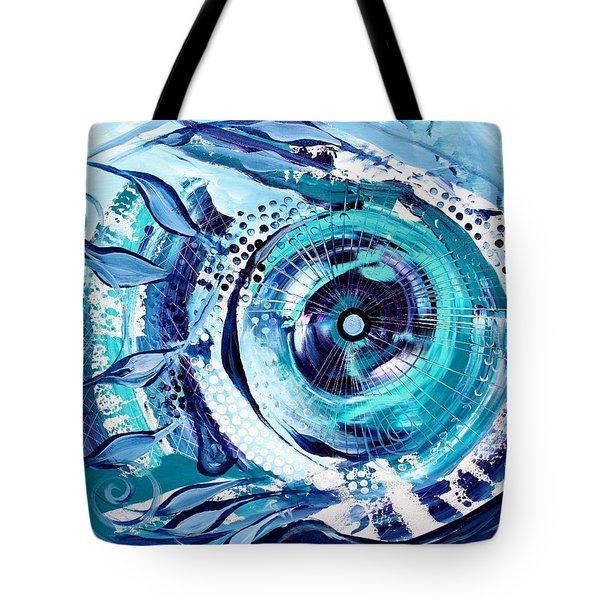 Icehole Fish Tote Bag