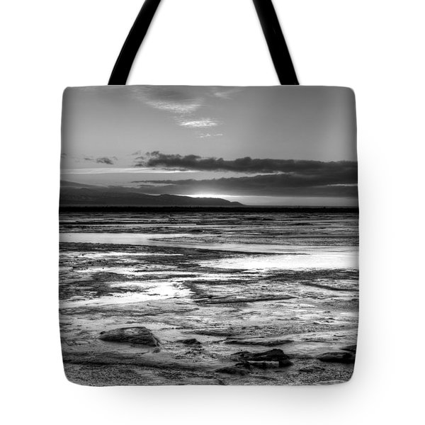 Icy Bay At Sunset Tote Bag by Michele Cornelius