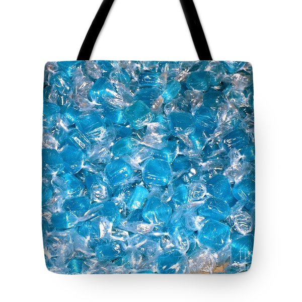Ice Blues Tote Bag by Beth Saffer