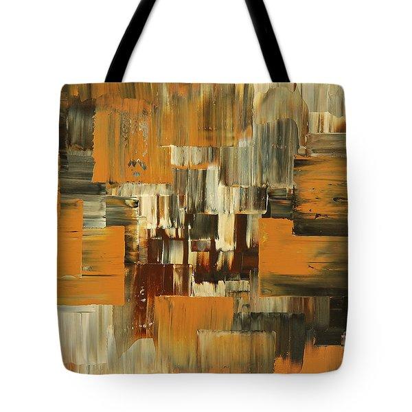 Tote Bag featuring the painting Ideas Evolve by Tatiana Iliina