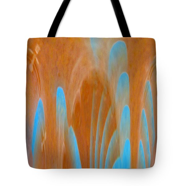 Idol Of Pomos Abstract Tote Bag by Augusta Stylianou