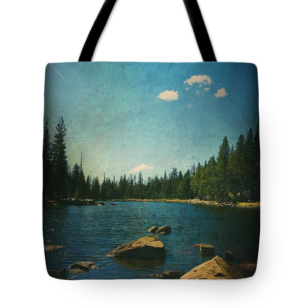 If It Could Be Just You And Me Tote Bag by Laurie Search