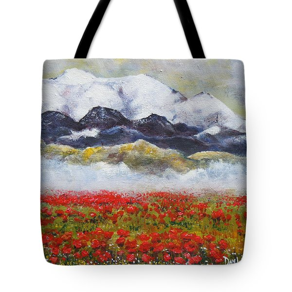 If Rose Had Roses Tote Bag by Dan Whittemore