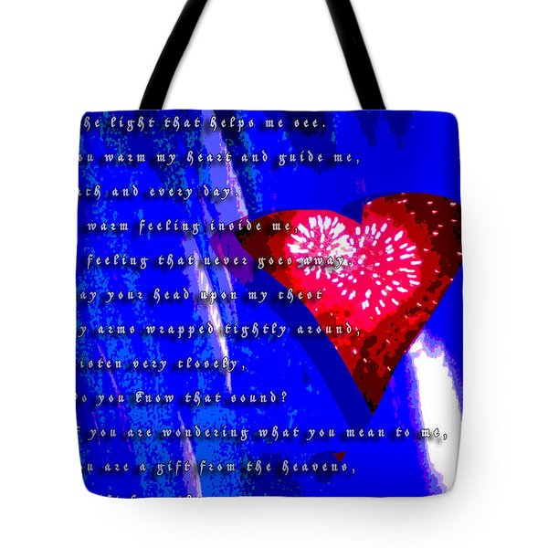 If You Are Wondering Tote Bag by Jimi Bush