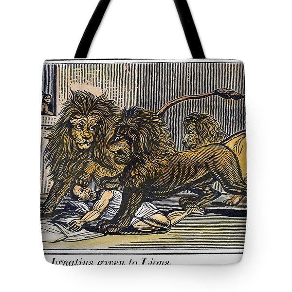 Ignatius Of Antioch (c35-110) Tote Bag by Granger