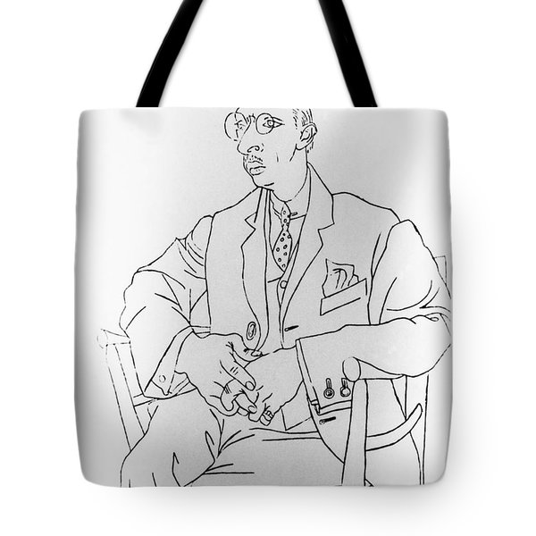 Igor Stravinsky, Russian Composer Tote Bag by Omikron