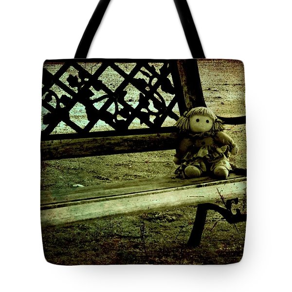 I'll Wait For You Tote Bag by Leah Moore