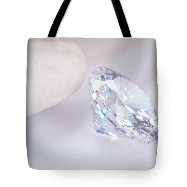Illuminate Diamond Tote Bag by Atiketta Sangasaeng