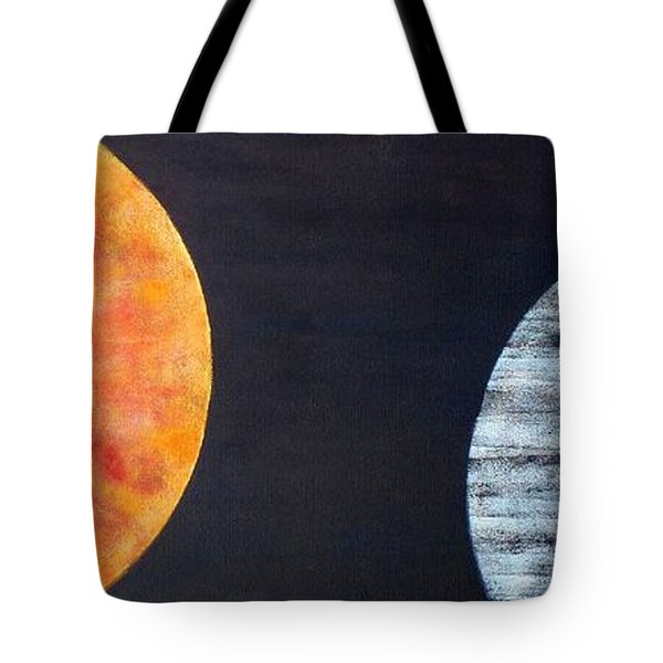 Tote Bag featuring the painting Illumination by Barbara Moignard