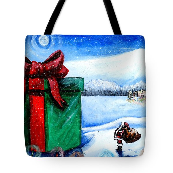 I'm Going To Need A Bigger Sleigh Tote Bag by Shana Rowe Jackson