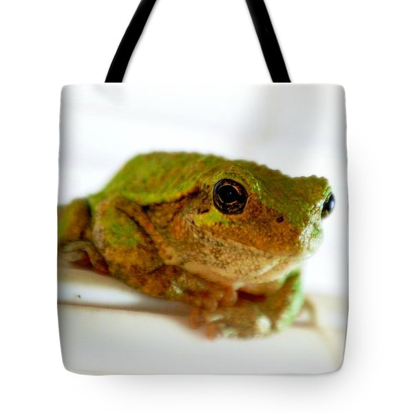 Tote Bag featuring the photograph Im Watching You by Peggy Franz