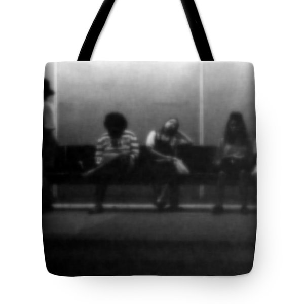 Images Of Waiting Tote Bag