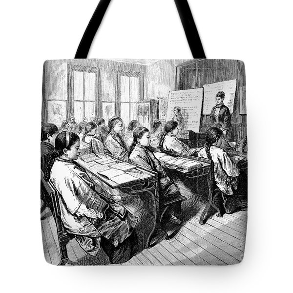 Immigrants: Chinese, 1876 Tote Bag by Granger