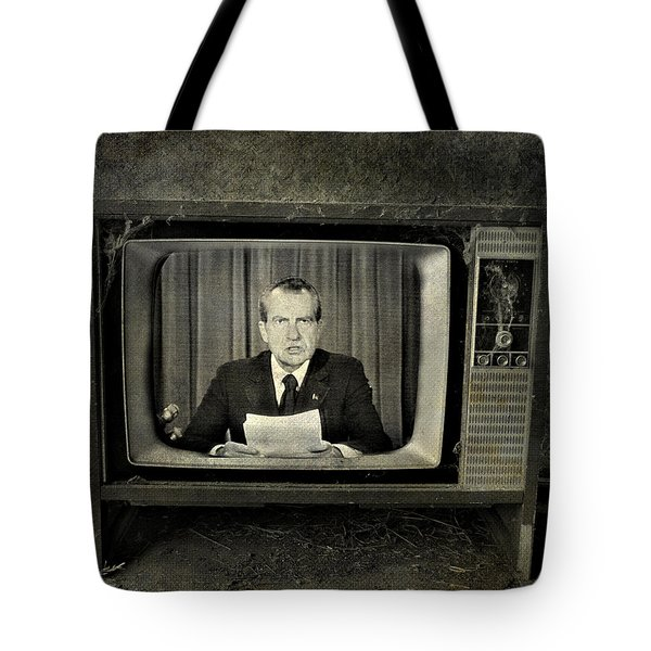 Impeached Network  Tote Bag by Empty Wall