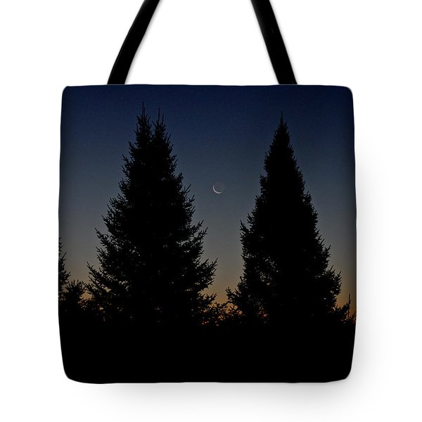 Tote Bag featuring the photograph Impending Sunrise by Penny Meyers