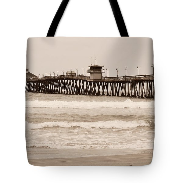 Tote Bag featuring the photograph Imperial Beach by Rima Biswas