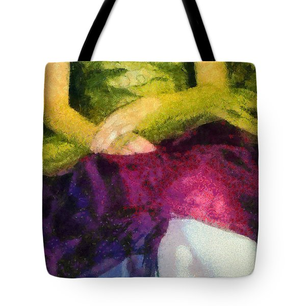 Impression Of A Ballerina Lap Tote Bag by Angelina Vick