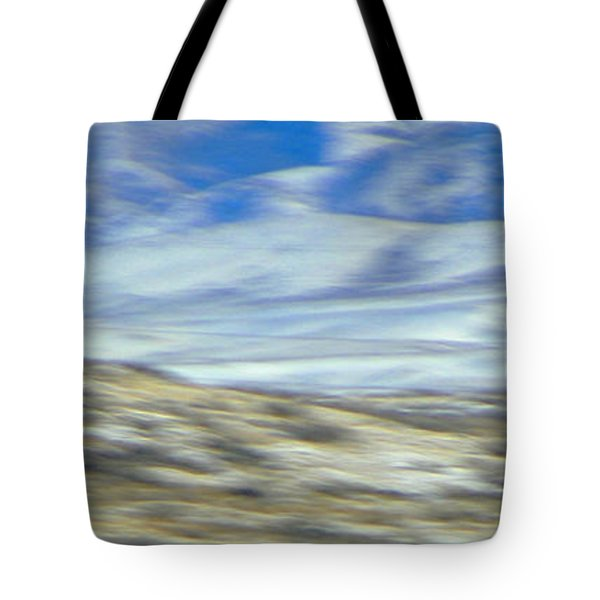 Impression Of Wyoming Tote Bag by Lenore Senior