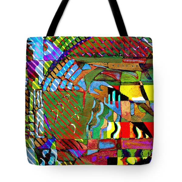 Improvisation Tote Bag by Mindy Newman