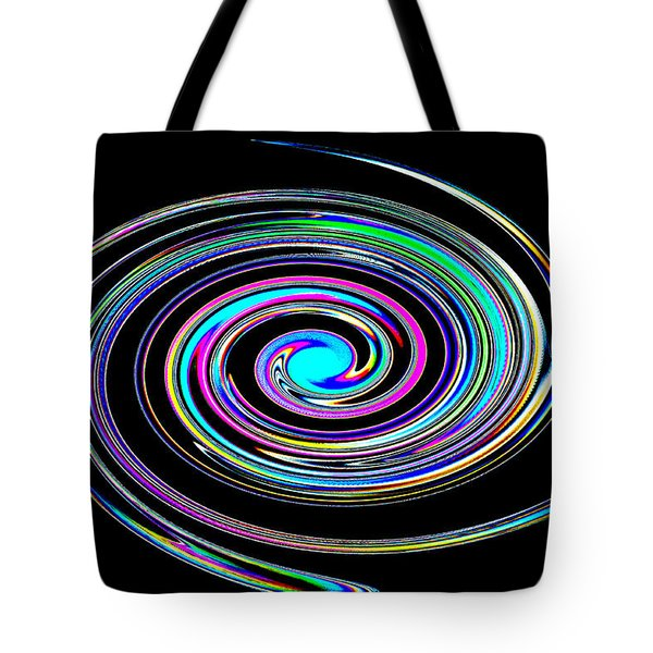 Tote Bag featuring the photograph In A Whirl by Steve Purnell