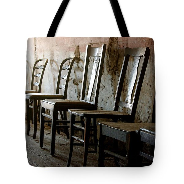 In Another Life Another Time II Tote Bag by Vicki Pelham