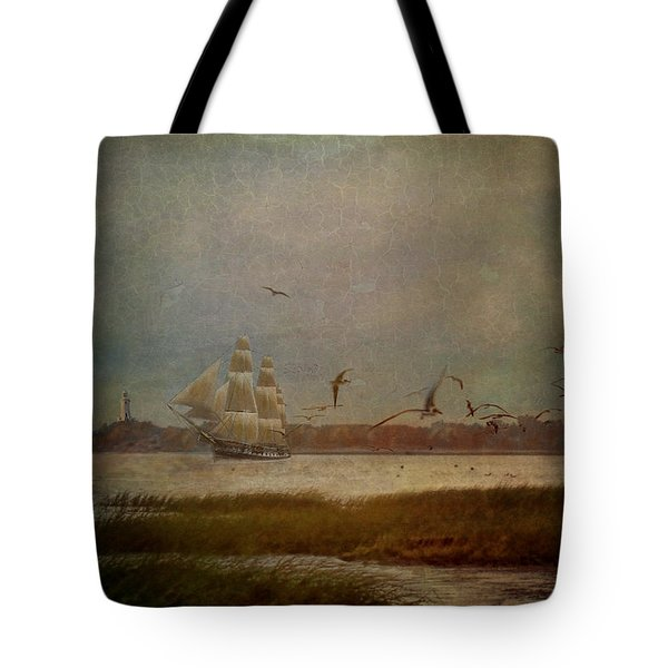 In Another Lifetime Tote Bag by Lianne Schneider