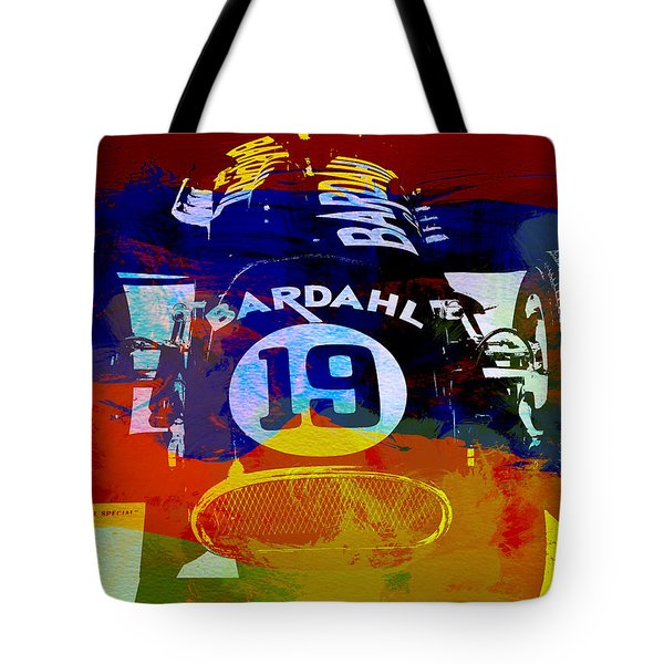 In Between The Races Tote Bag by Naxart Studio